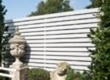 Slatted timber screens
