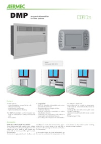 Dmp Dehumidifier With Humidistat Recessed Installation