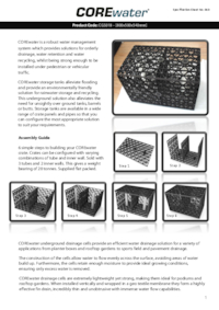 Corewater underground water management system core - Core landscape products ...