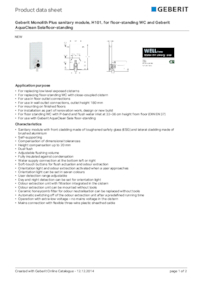 geberit monolith plus sanitary module for wc geberit esi interior design. Black Bedroom Furniture Sets. Home Design Ideas