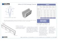 althon ch 150 high capacity grc drainage channel 51l m. Black Bedroom Furniture Sets. Home Design Ideas