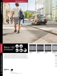 birco 150 grid drainage system marshalls esi external works. Black Bedroom Furniture Sets. Home Design Ideas