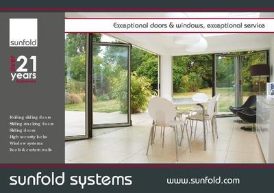 Sunfold Systems Brochure & Sliding doors | Sunfold Systems | ESI Building Design