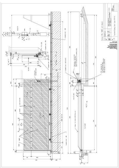 Sliding gate design drawings