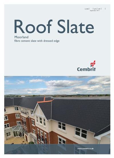 Moorland Dressed Edge Fibre Cement Roof Slates Cembrit