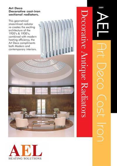 art deco cast iron radiator ael heating solutions ltd. Black Bedroom Furniture Sets. Home Design Ideas