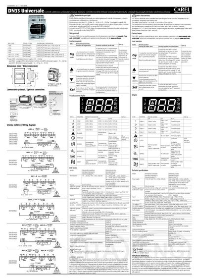 CAREL_IR33techinfo_ML_pdf_page_1 ir33 universal air conditioning unit carel uk esi building carel ir33 wiring diagram at mifinder.co