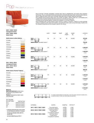 Pop Modular Polycarbonate Sofa Connections At Home Ltd