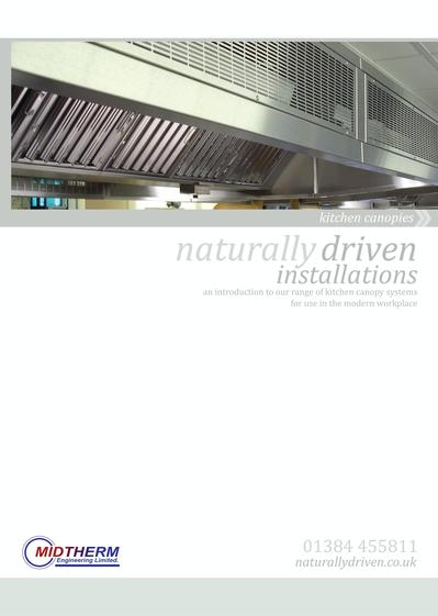 Kitchen Canopy Systems Midtherm Engineering Esi Building Services