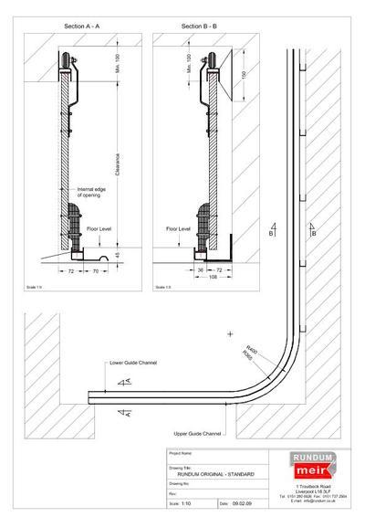 Original Sliding Garage Doors Rundum Meir Esi Building