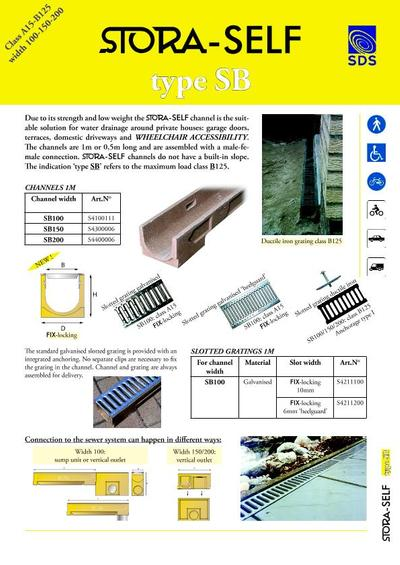 Stora drain drainage channels sustainable drainage for House drainage system pdf