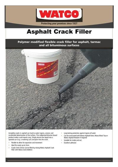 Asphalt Crack Filler Products : Repfile