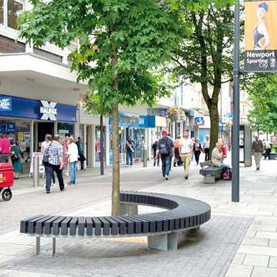 All black rough ready seating streetlife esi external - Rough and ready furniture ...