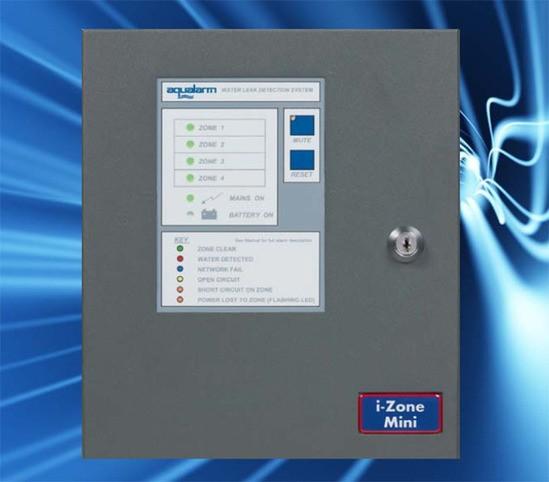 i-Zone Mini control panel monitoring 4 water detectors