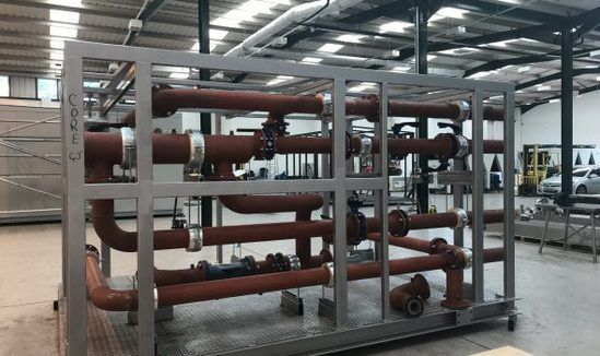 Packaged plant room