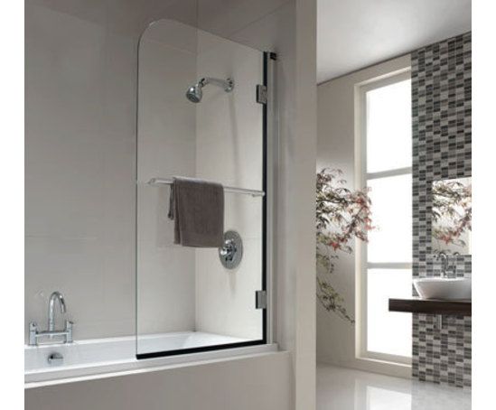 Hydr8 Fixed Panel Overbath Shower Screens