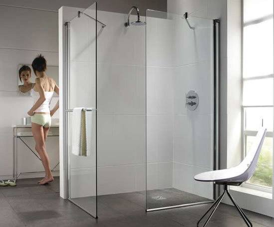 Hydr8 walk in shower enclosures twyford bathrooms esi for Types of walk in showers