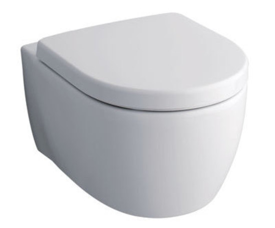 3D Rimfree® rimless wall hung toilet