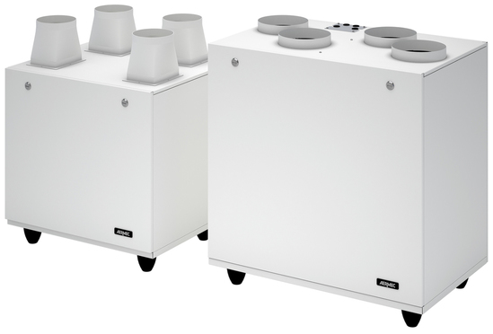Repuro static counter-current heat recovery unit