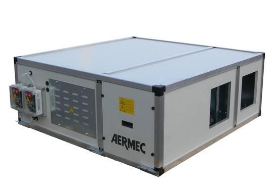 URHE CF high efficiency heat recovery unit