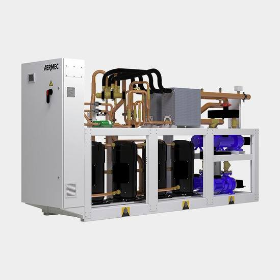 NXW 0503/1654 water cooled internal chiller & heat pump