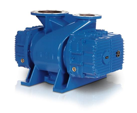 Negative pressure stage blowers with pre-inlet cooling