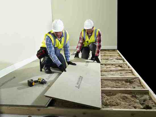 Widely-used chipboard flooring