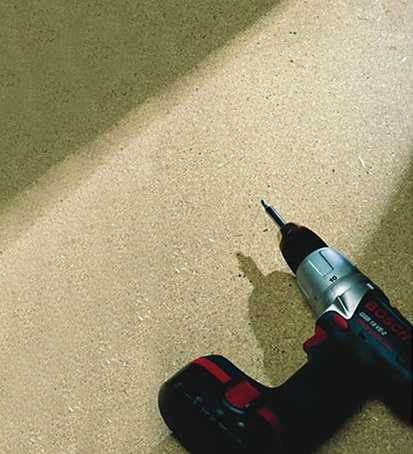 Caberdek P5 particleboard flooring for Croudace Homes