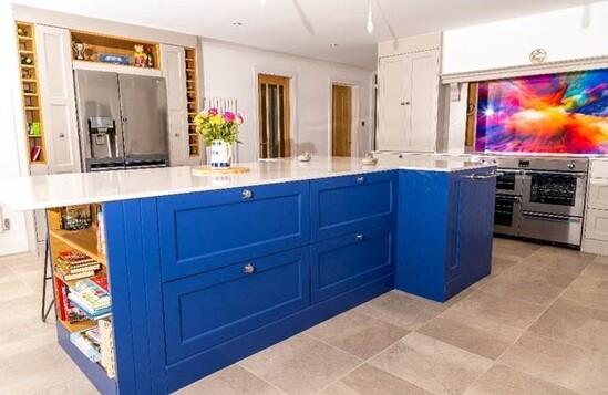 CaberWood MDF Pro MR used in handmade kitchen