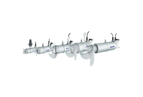 ABS XRW 210–900 submersible mixer
