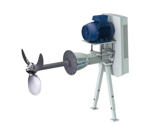 SALOMIX SSA side-mounted agitator
