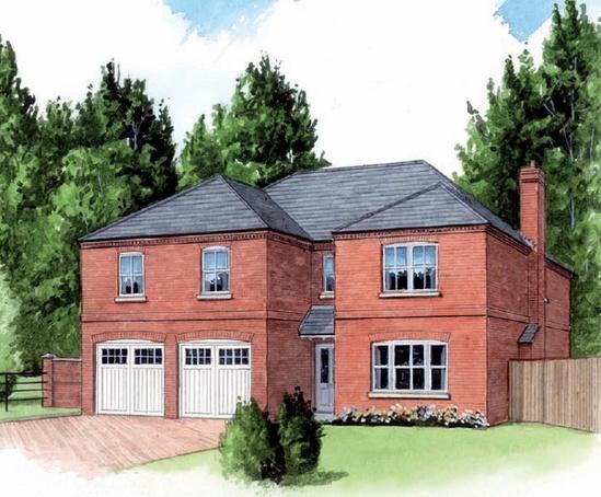 Craven Gardens homes illustration