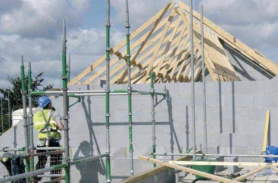 H+H aircrete Jumbo Bloks for affordable housing