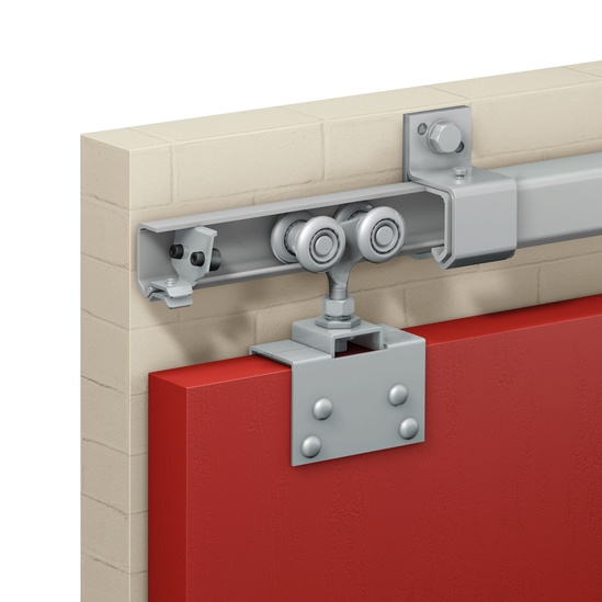 Series 50 interior exterior sliding door gear 440kg for Exterior sliding door systems