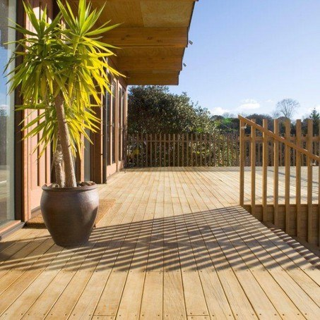 Radiata Pine Decking Boards
