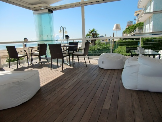 Thermory eco-friendly decking, flooring & cladding