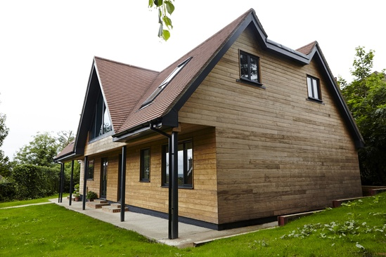 Thermory thermo-treated timber wall cladding