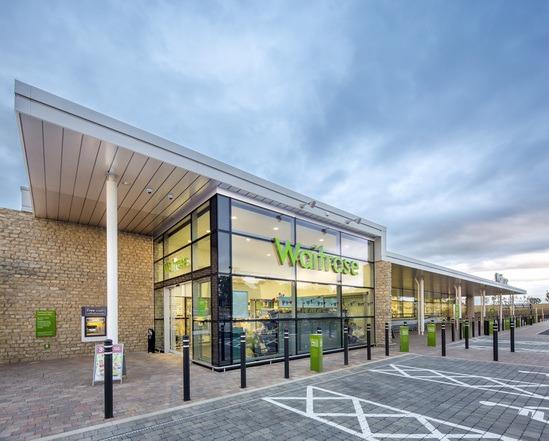 Sustainable drainage for supermarket