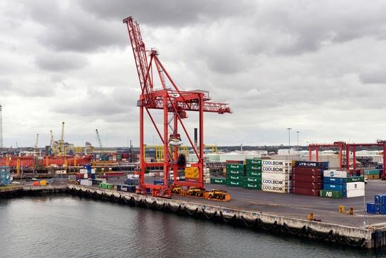 ACO RoadDrain drainage for Dublin Port