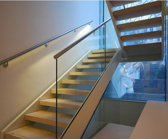 scissor type staircase converted notting hill property