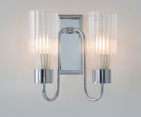 Morston double wall light (nickel)