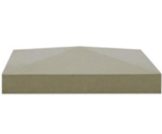 Stone Cap Detail : Pier caps stonecrete esi building design