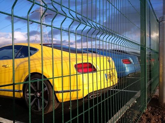 Exempla™ fencing at Bentley Motors in Crewe