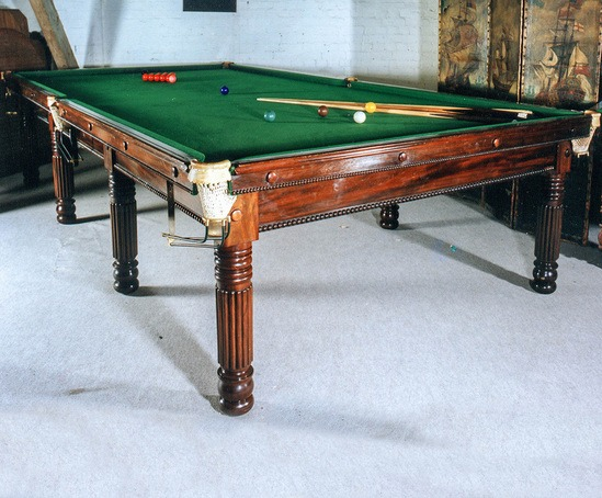 Bespoke billiards / snooker / pool tables - Gillow
