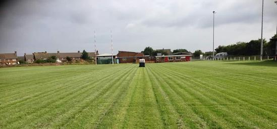 Landscape Garden Rugby : Sports pitch maintenance and drainage redcar rugby club cleveland