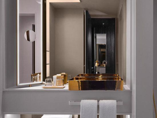 Luxury bathroom for Nobu Hotel, Shoreditch
