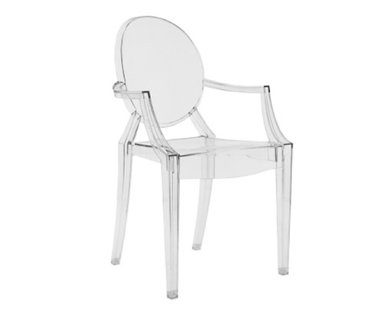 Louis Ghost Polycarbonate Chair By Phillippe Starck