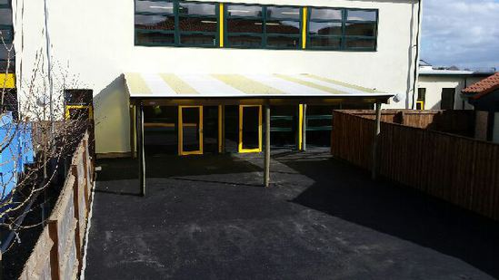 Roecroft's teaching canopy