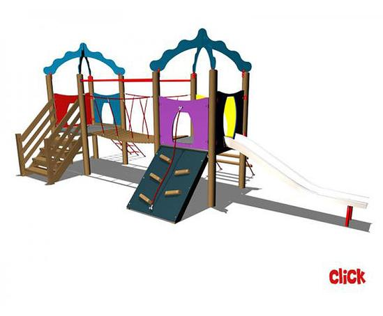 Click two tower play unit setter play esi external works for Play unit