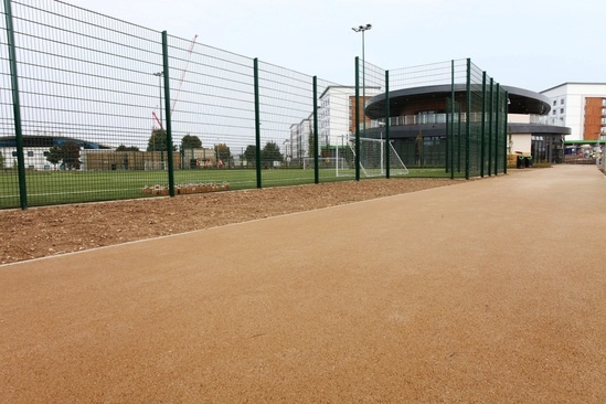 NatraTex Cotswold bound surfacing for university